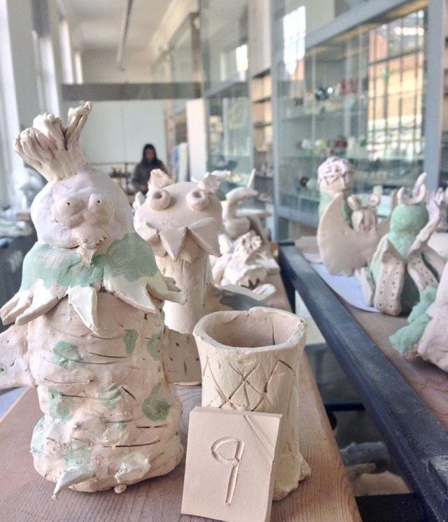 V&A Make It Clay workshops in the summer 2013 for Family Art Fun, https://www.vam.ac.uk/info/family-art-fun