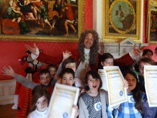 Historic Royal Palaces, Kensington Palace, Palace Explorers project, 2013