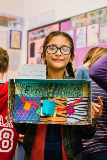 UCL Museums Art Club project with local Islington Primary School, November 2017