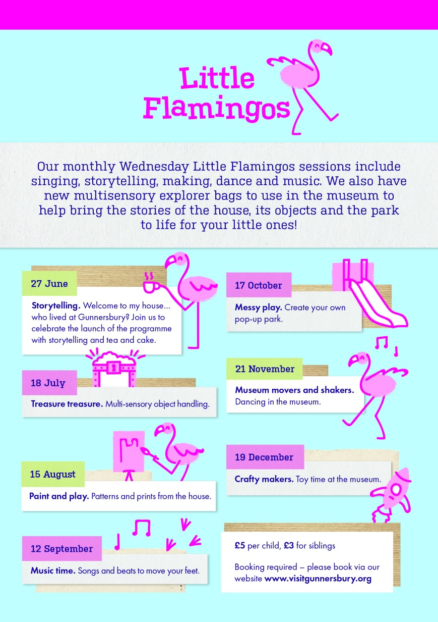 Gunnersbury_A5 Flyers_Little Flamingos AW Back